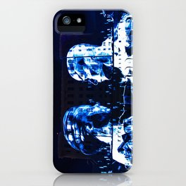 Energetic cascade iPhone Case