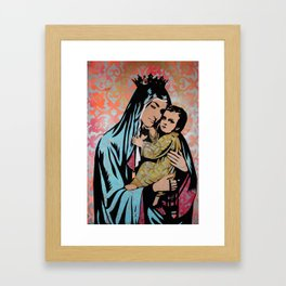In Guad we Trust Framed Art Print
