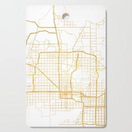 PHOENIX ARIZONA CITY STREET MAP ART Cutting Board