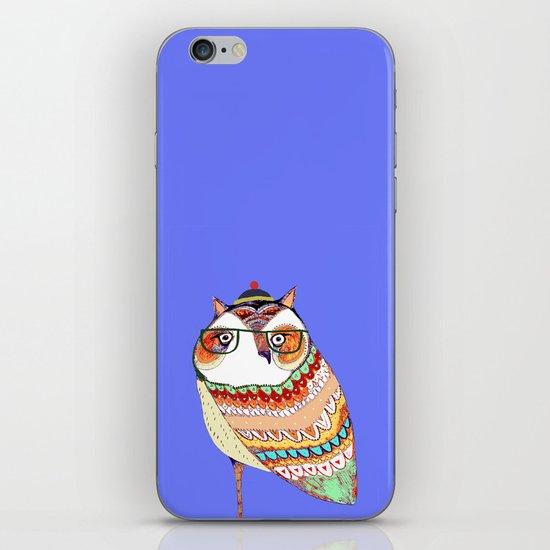 Owl, owl art, owl illustration, owl print,  iPhone & iPod Skin