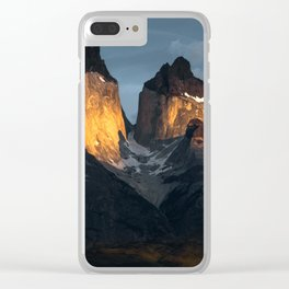 Patagonian Morning Clear iPhone Case