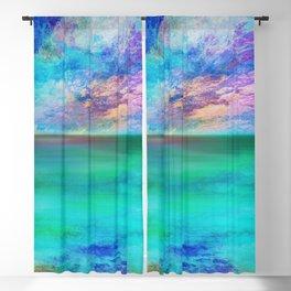 Ocean at Sunrise Blackout Curtain