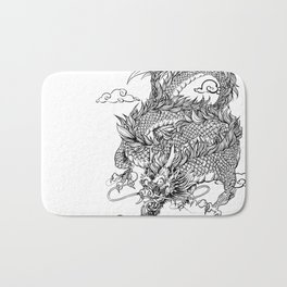 Padre's Dragon Bath Mat