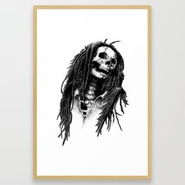 the Legend of Reggae Framed Art Print