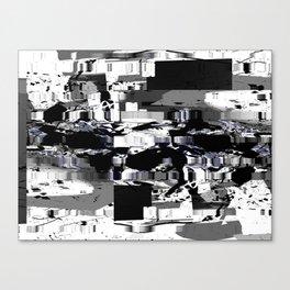 rood chango d'accordiomen Canvas Print