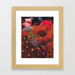 Lay Me to Rest on the Red Planet Framed Art Print