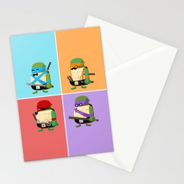 Turtles in Disguise Stationery Cards