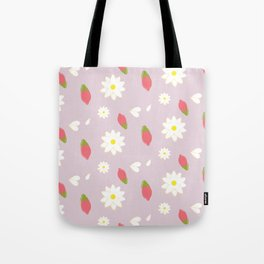 Wolfberry Chamomile  Tote Bag
