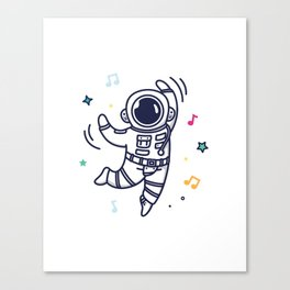 Cheerful Dance Canvas Print