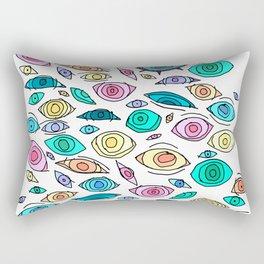 Cosmic Eyes On You Rectangular Pillow