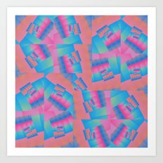Colour Patch Art Print