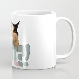 Innocent Cat Coffee Mug