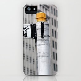 Pearl St. - in New York City iPhone Case
