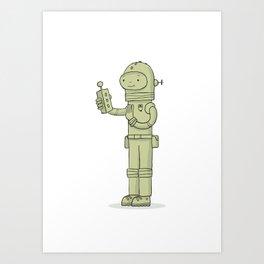 Zulu The Last Interdimensional Time and Space Explorer Art Print