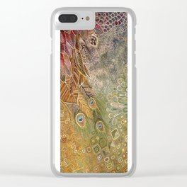 Animal Reign Clear iPhone Case