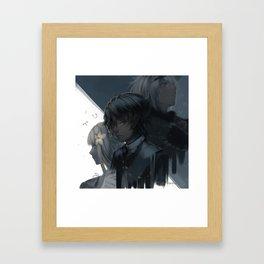 -Recycled Vessel- Framed Art Print