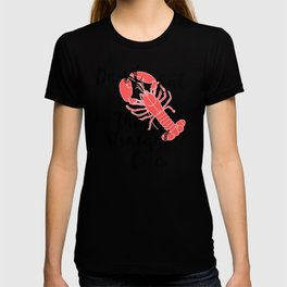 Crawfish Boil Don't Eat the Straight Ones T-shirt