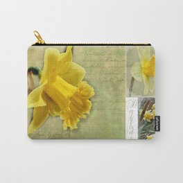 Daffodils from England Carry-All Pouch