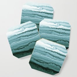 WITHIN THE TIDES - OCEAN TEAL Coaster