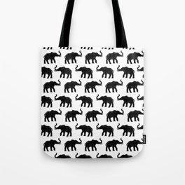 Elephants on Parade Tote Bag