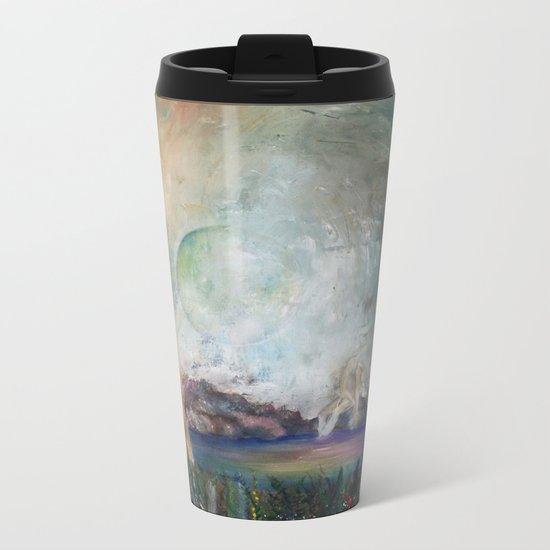 Astral Sphere Metal Travel Mug