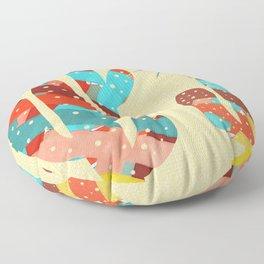 Whimsical Southwestern Desert Art  Floor Pillow