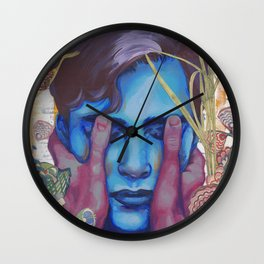 See More With Your Eyes Closed Wall Clock