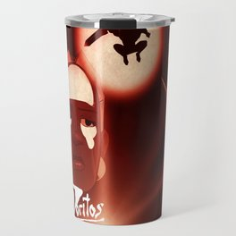 """Hearts of Darkness"" - Dungeons & Doritos Travel Mug"