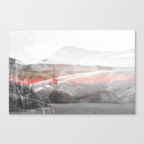 Lost Color Canvas Print