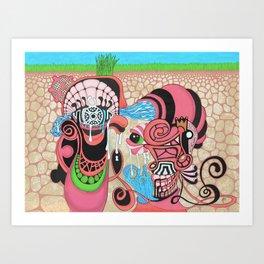 underground production Art Print