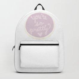 you're so pretty cake Backpack