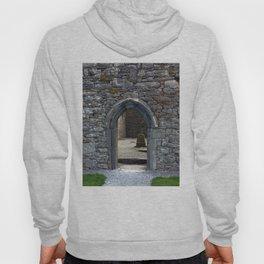 View of Grave Through Door of Irish Ruins v.3 Hoody