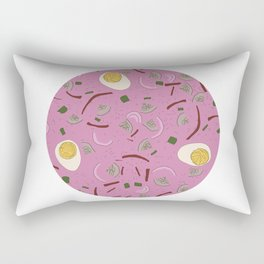 Eastern European Food/ Cold Beet Soup II Rectangular Pillow