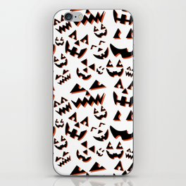 Scary Faces iPhone Skin