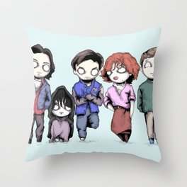 Saturday Detention Throw Pillow
