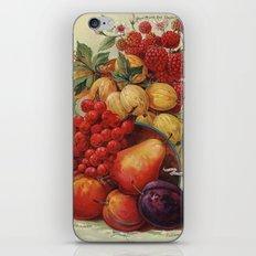 Wild fruit iPhone & iPod Skin