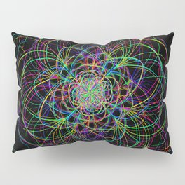 looping lines Pillow Sham