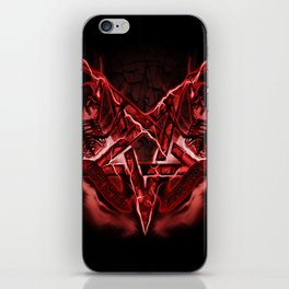 Don't be late for the party iPhone Skin