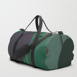 """""""The Girl and the Moon (Pattern 02)"""" Duffle Bag"""