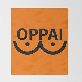 oppai Throw Blanket
