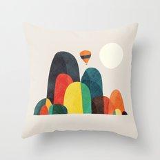 Wanderlust Throw Pillow