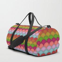 Rainbow Unicorn Scales Duffle Bag