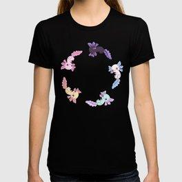 kawaii axolotl pattern T-shirt