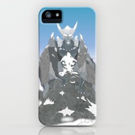 Earth Dragon iPhone Case