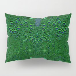Dragon abstracte skin pattern Pillow Sham