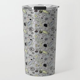 """""""Cells and bacteria's party"""" Travel Mug"""