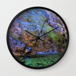 clear green water Wall Clock