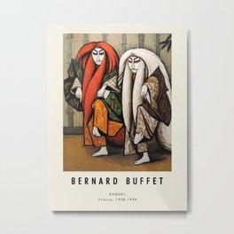 Poster -Bernard Buffet-Kabuki. Metal Print
