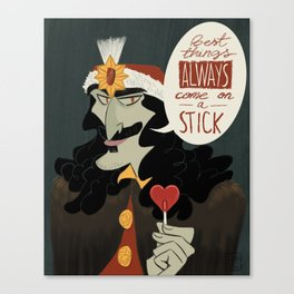 Vlad Tepes, Dracula Canvas Print