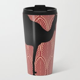 Art deco camel Travel Mug